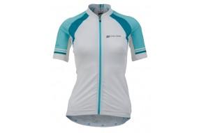 Women's Vela Race Jersey - zeleno/modrá