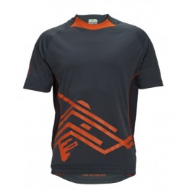 AWOL Trail Jersey - šedá/oranžová