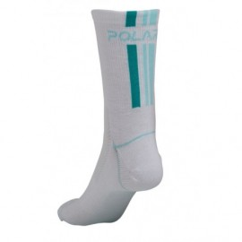 Italian Coolmax Sock - bielo/zelené