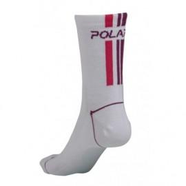 Italian Coolmax Sock - bielo/fialové