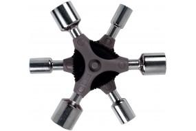 Multikľúč Y s hlavou /8, 9, 10, 13, 14, 15 mm/